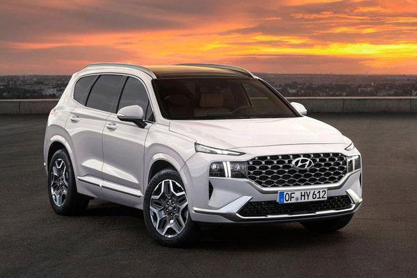 Đại lý bắt đầu nhận cọc Hyundai Santa Fe 2021, giao xe vào tháng 6