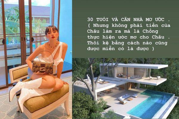 'Phạm Băng Băng phiên bản Việt' khoe được chồng đại gia tặng villa 230 tỷ nhân dịp sinh nhật