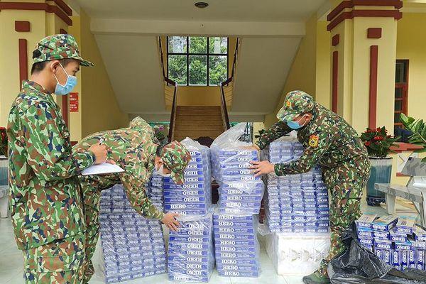 Thu giữ gần 5.000 gói thuốc lá nhập lậu