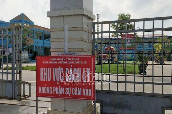 Yên Dũng: Thành lập thêm khu cách ly tập trung phòng, chống dịch