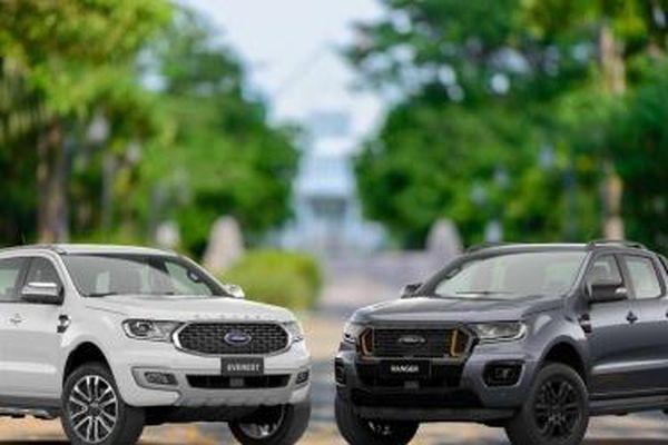 Ford Ranger và Ford Everest vẫn giữ ngôi vương phân khúc trong tháng 4/2021