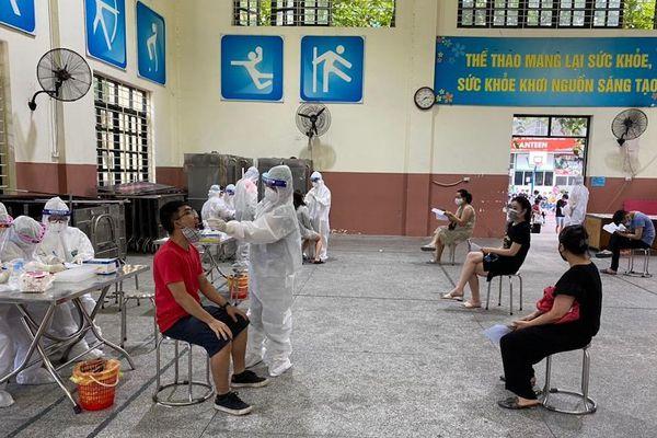 Hà Nội: 30 quận, huyện, thị xã lấy mẫu xét nghiệm những người đã đến Đà Nẵng