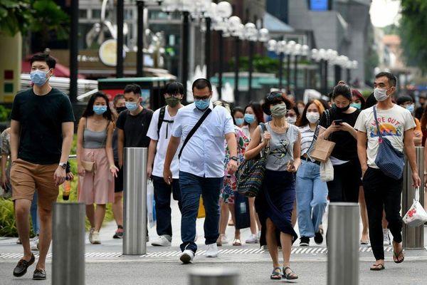Singapore có số ca mắc Covid-19 trong cộng đồng cao kỷ lục