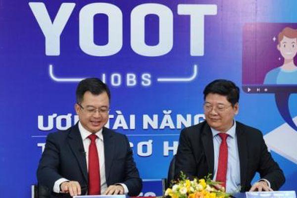 Ra mắt chức năng việc làm YOOT JOB trên ứng dụng 'hướng nghiệp YOOT'