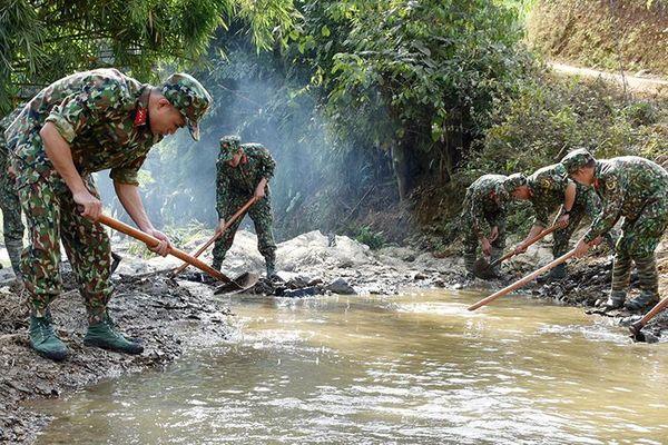 Toàn quân đẩy mạnh công tác dân vận vùng đồng bào dân tộc thiểu số