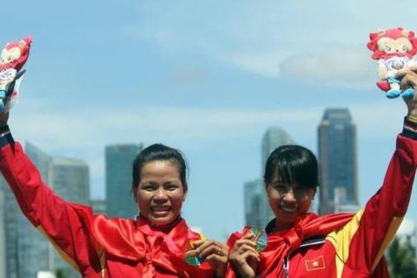 'Chị' sinh viên hai lần chèo thuyền đến Olympic