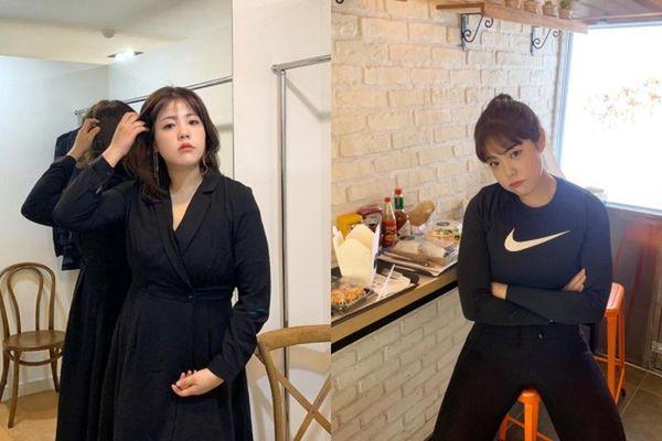 Khoe ảnh cùng 1 chiếc váy, 'Thánh ăn' Hàn Quốc gây sốc với ngoại hình