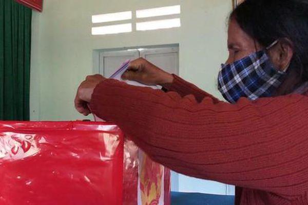 Sáu xã vùng biên Quảng Nam bầu cử sớm
