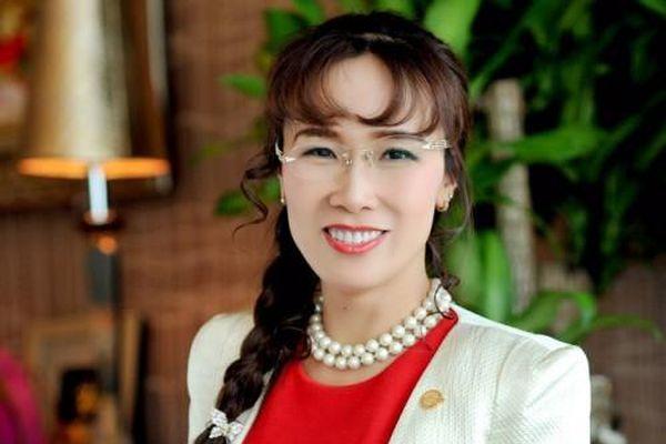 Giá cổ phiếu VJC giảm, CEO Nguyễn Thị Phương Thảo mất Top 5 người giàu nhất Việt Nam