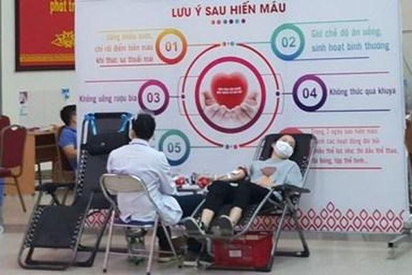 Ruy băng vàng – Vì người bệnh cần máu 2021
