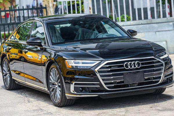 Chi tiết Audi A8 đời 2021 phiên bản trục cơ sở kéo dài tại Việt Nam