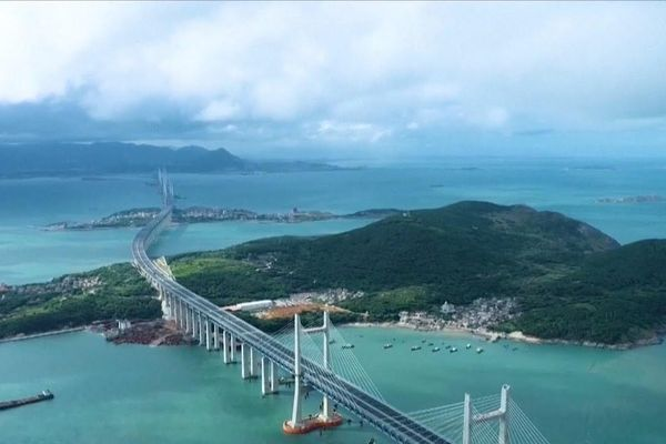 Cầu đường sắt xuyên biển dài nhất thế giới