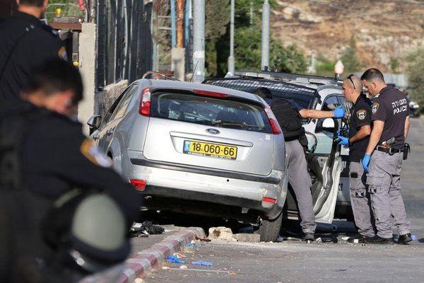 Tấn công bằng ôtô ở Bờ Tây