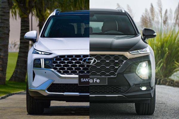 Hyundai Santa Fe 2021 đã được nâng cấp những gì?
