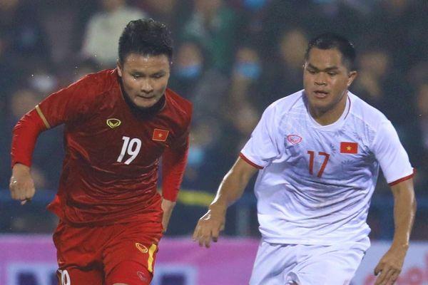 Tuyển quốc gia giao hữu với U22 Việt Nam chiều mai