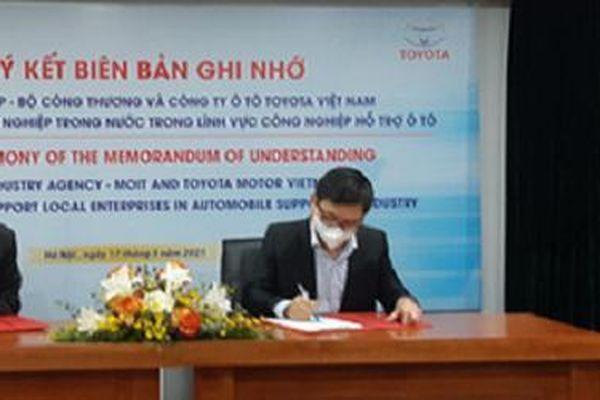 Toyota Việt Nam đồng hành cùng ngành công nghiệp ô tô trong nước