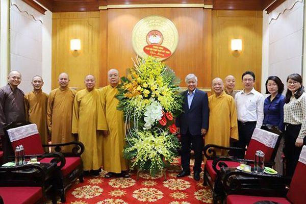 Chúc mừng đồng bào Phật giáo cả nước nhân dịp Đại lễ Phật đản năm 2021-Phật lịch 2565