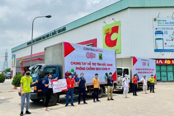Hỗ trợ Bắc Giang và Vĩnh Phúc chống dịch