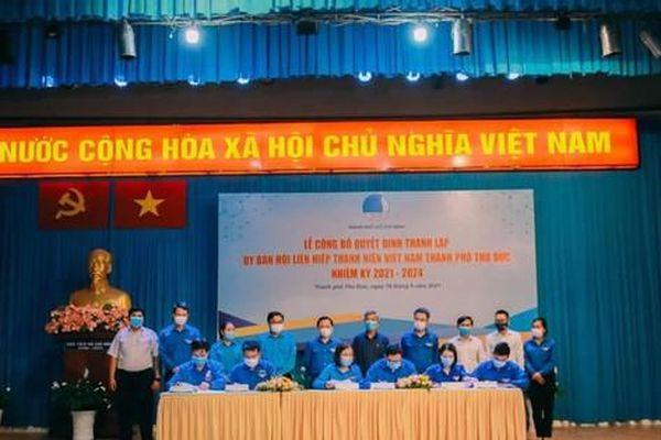 TP. HCM: Thành lập Hội LHTN Việt Nam TP. Thủ Đức