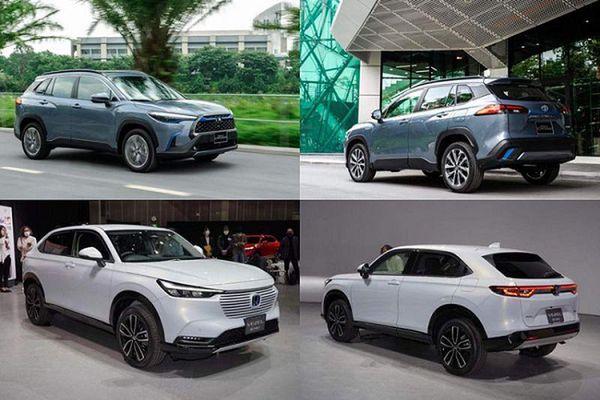 Honda HR-V 2021 mới có gì để 'đấu' Toyota Corolla Cross?