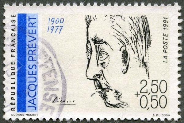 Jacques Prévert có tập thơ in hàng triệu cuốn
