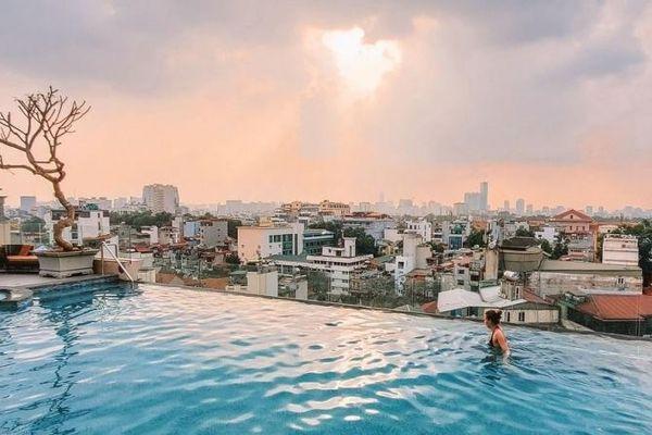 Bốn khách sạn Hà Nội có tầng thượng lọt top đẹp nhất thế giới