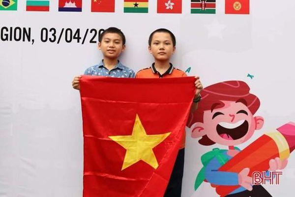 2 học sinh Hà Tĩnh đạt huy chương đồng Olympic Toán quốc tế TIMO
