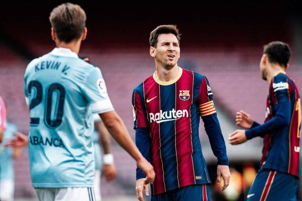 Messi không thể cứu Barca, tan mộng vô địch La Liga
