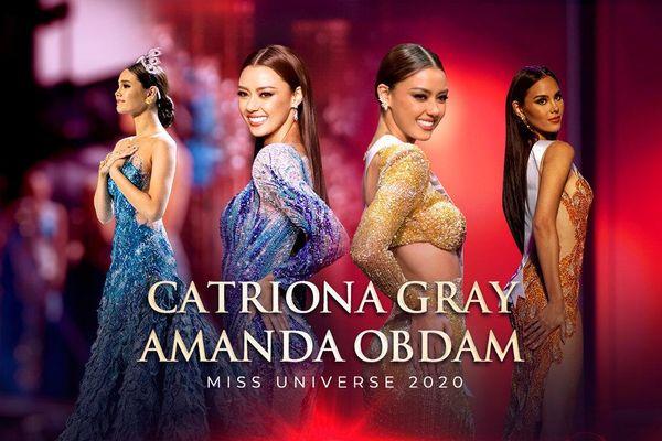 Amanda Obdam - bản sao hoàn hảo của Catriona Gray: Xứng danh 'Mèo xanh' của xứ sở chùa Vàng