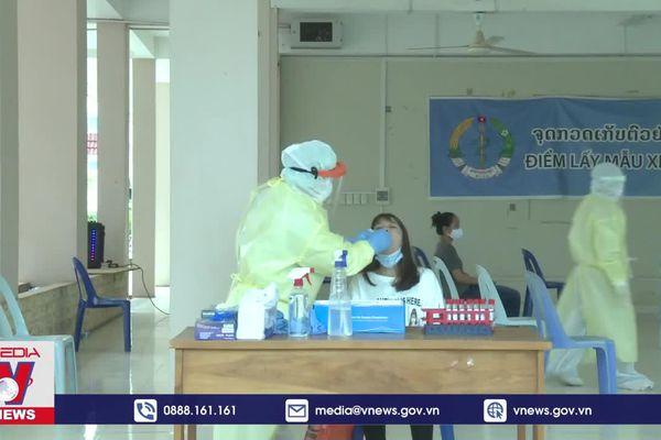 Lào tăng cường kiểm soát dịch COVID-19 tại thủ đô