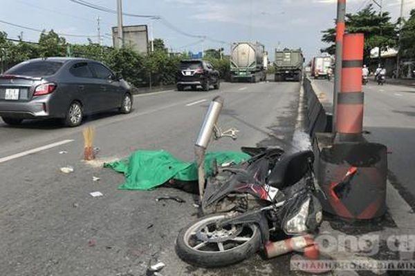 Một thanh niên bị xe ben cán tử vong ở Sài Gòn