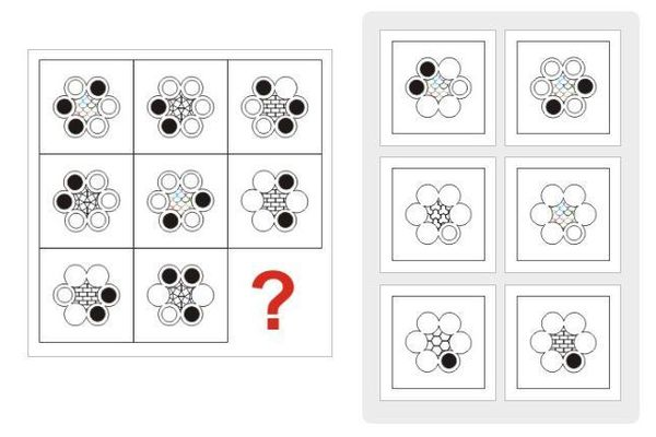 Thử thách IQ: Tìm được hết quy luật của chuỗi hình này thì bạn rất đáng gờm đấy
