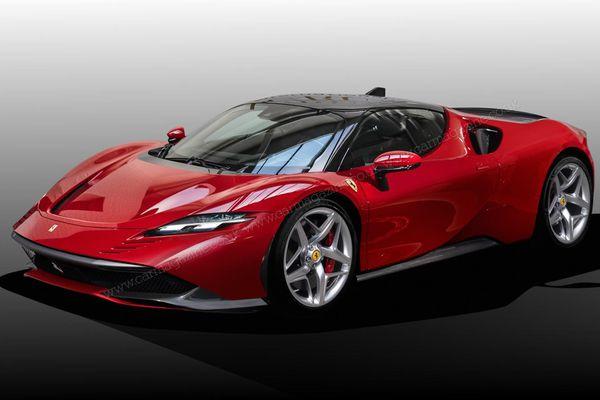 Siêu xe Ferrari bí ẩn xuất hiện: Động cơ V6, có thể thay thế F8 Tributo, nằm dưới SF90 Stradale