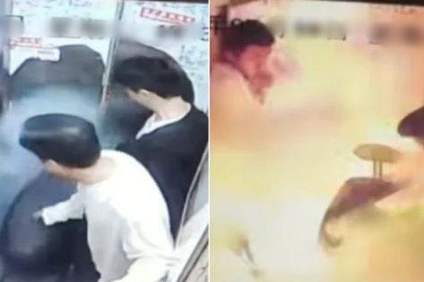 Trung Quốc: Đem xe đạp điện vào thang máy, ai ngờ xe bỗng phát nổ gây hậu quả nặng nề