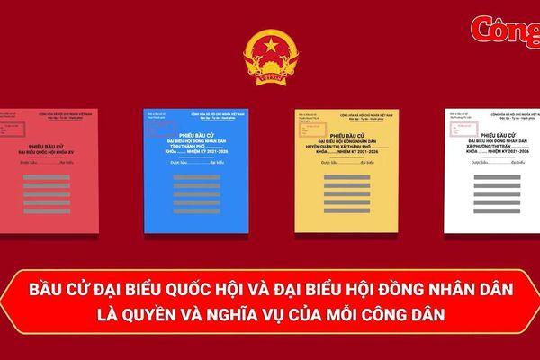Clip: 'Quy trình 6Đ' bầu cử đại biểu Quốc hội và đại biểu Hội đồng nhân dân các cấp