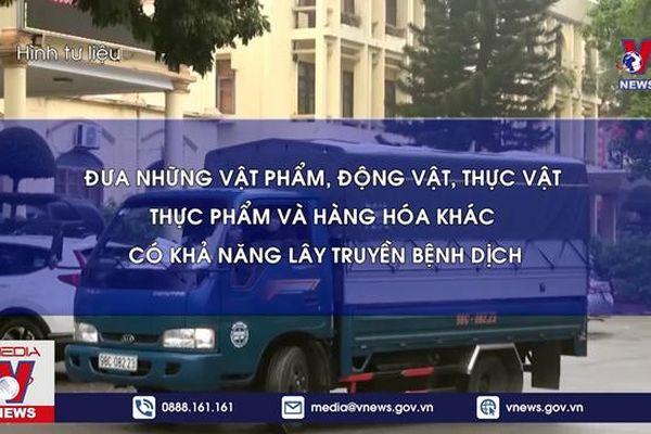 Cảnh sát giao thông tăng cường xử phạt vi phạm phòng chống dịch
