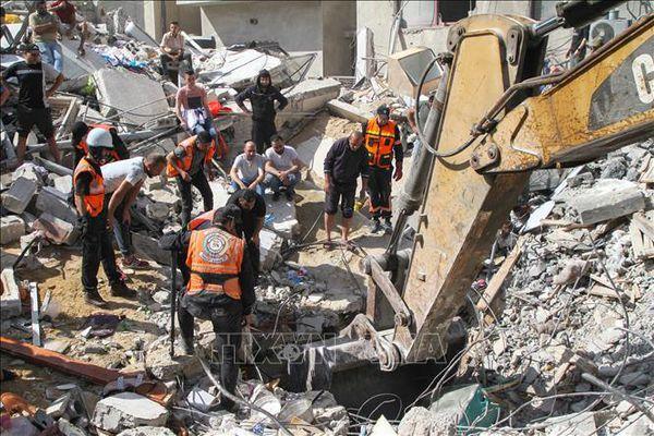 Mỹ, EU thúc đẩy tìm giải pháp chấm dứt bạo lực giữa Israel và Palestine