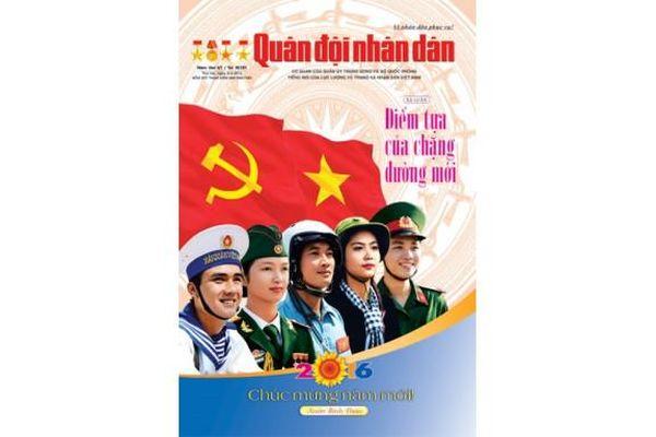 Thông điệp về văn hóa nghệ thuật trên Báo Quân đội nhân dân