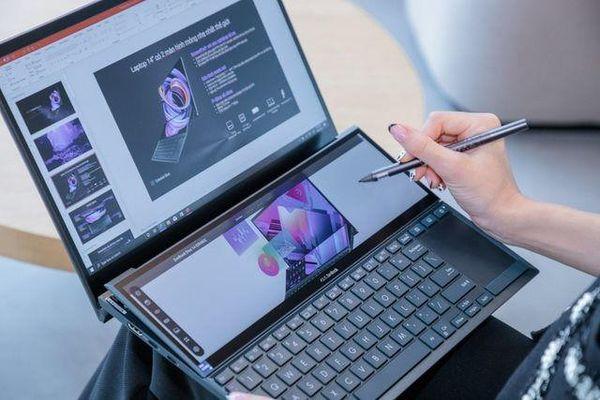 Asus ZenBook Duo 14 chính thức lên kệ