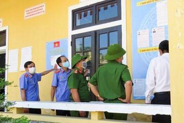 VKSND tỉnh Thừa Thiên - Huế kiểm sát quyền bầu cử của người bị tạm giữ, người bị tạm giam