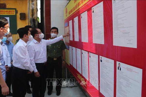 Hà Nam kết hợp các biện pháp phòng dịch để đảm bảo an toàn cho ngày bầu cử