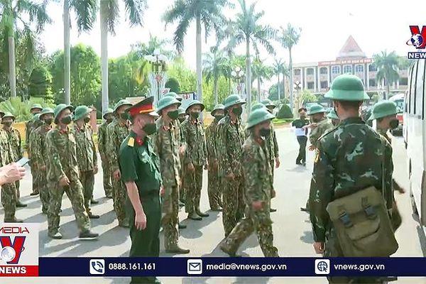 Sư đoàn 3 hỗ trợ Bắc Giang chống dịch