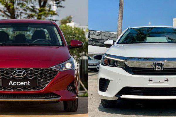 Tầm giá 500 triệu đồng, chọn Honda City E hay Hyundai Accent AT?