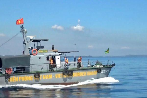 BĐBP tuần tra bảo vệ vùng biển trong dịp bầu cử