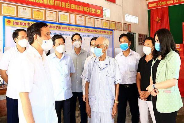 Phú Thọ: Tất cả 1.707 điểm bầu cử thực hiện khai báo y tế