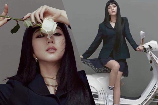 Jisoo Black Pink cắt mái ngố, mang visual cực lạ trên bìa Elle Hong Kong