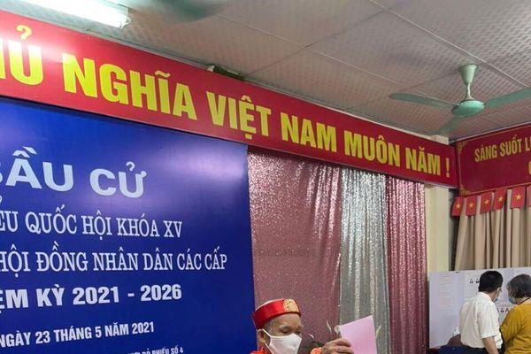 Quận Nam Từ Liêm: Quy trình bầu cử diễn ra thuận lợi, khoa học, đảm bảo phòng dịch Covid-19
