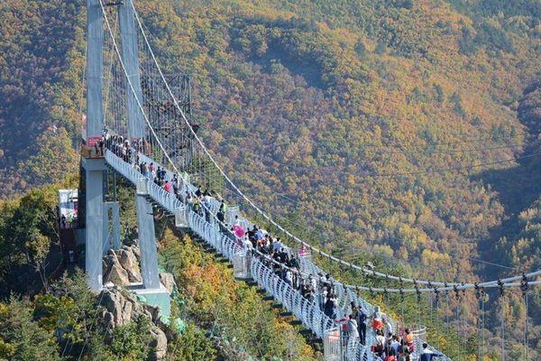 Nở rộ xây cầu kính làm du lịch, nghi ngại độ an toàn