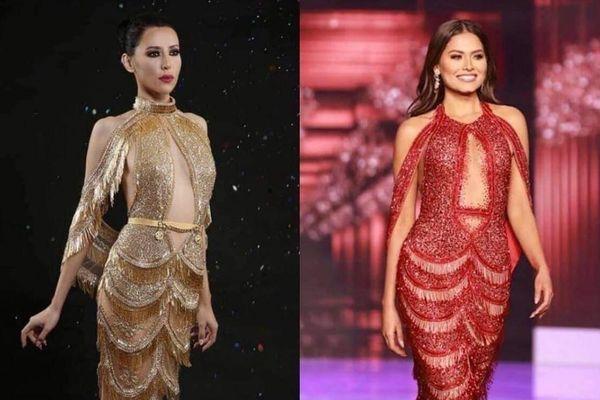 Xôn xao tin đồn váy đăng quang của Hoa hậu Hoàn vũ 2020 là hàng 'đạo nhái'