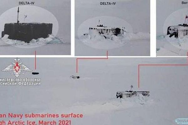 Mỹ thừa nhận Nga một mình thống lĩnh Bắc Cực